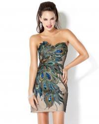Модные коктейльные платья - фото.