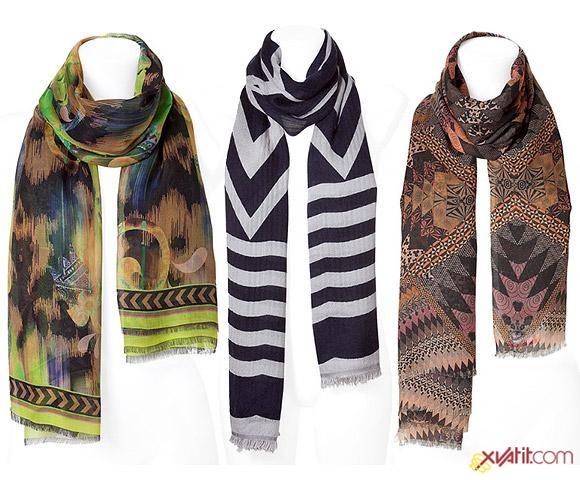 Теперь шарфы осени 2011 не только элемент гардероба но и модная...