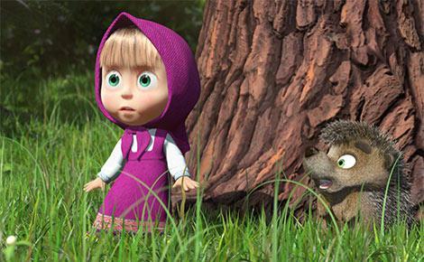 Маша и Медведь 046 Обои - Маша и Медведь (Masha and the Bear.
