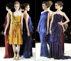 Платья 2012 - элегантные и женственные.