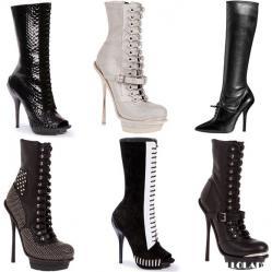 Женские модные сапоги, ботинки .