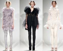 Особенности осенне-зимней коллекции вечерних платьев от Marchesa...