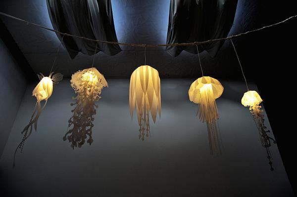 Медузы также вдохновили и