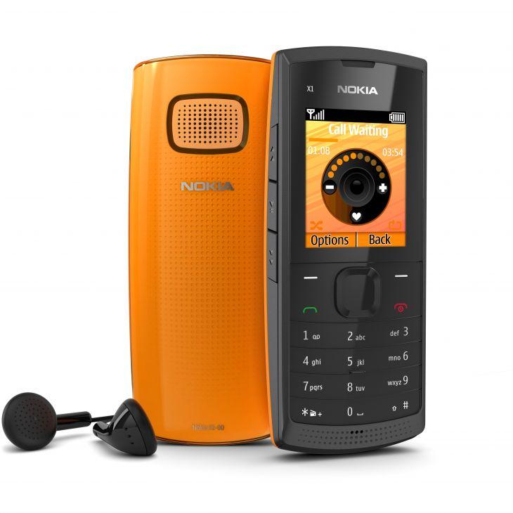 Музыкальный и очень громкий − Nokia X1-00