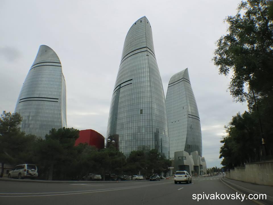Репортаж №9. Из Азербайджана. Пламя - бренд страны.