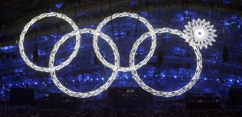 Курьёз на открытии Олимпиады в Сочи