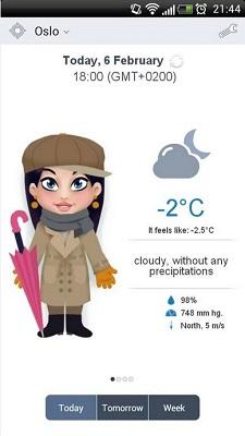 Погода в твоем кармане
