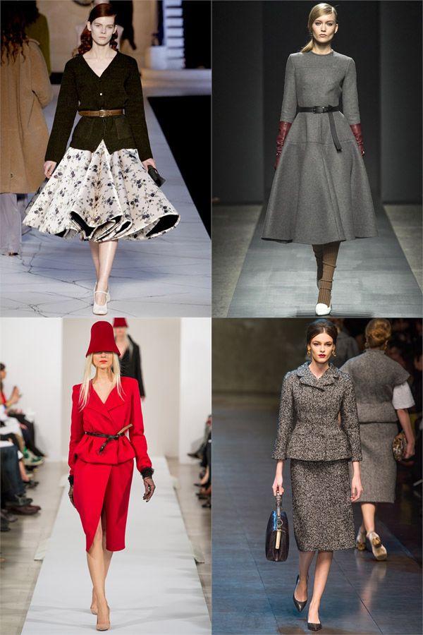 В тренде — платья из прошлого