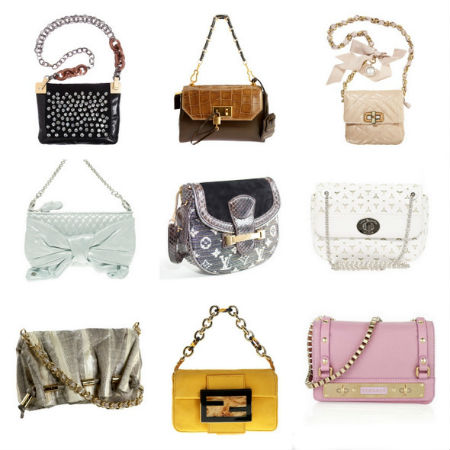 На фото сумки: Lanvin, Marc Jacobs,Lanvin, Juicy Couture 300, Louis...