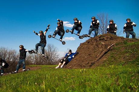 Молодёжный вид спорта — маунтинбординг
