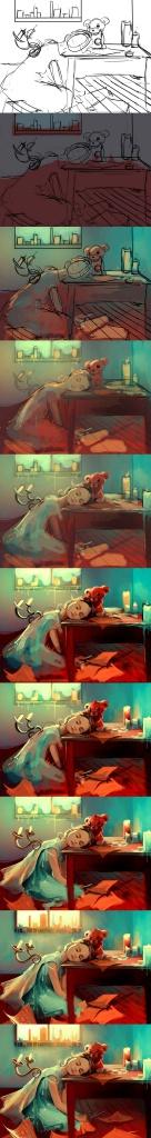 Уроки фотошопа часть 72 - Рисуем девочку
