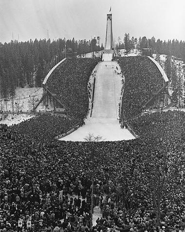 Олимпиада Осло 1952 фото
