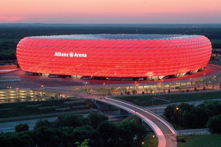 Оригинальные спортивные арены мира