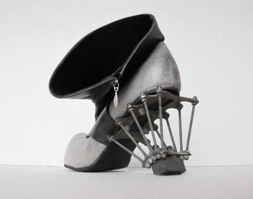 Креативная обувь от компетиста-архитектора