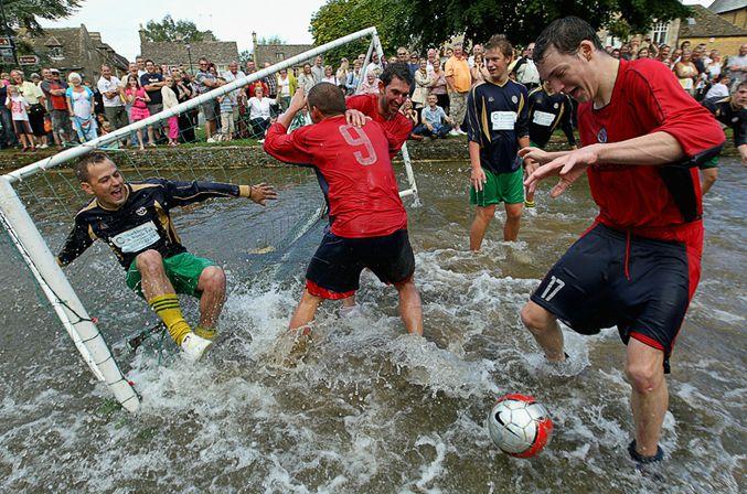 Мокрый футбол 2