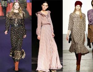 Образ принцессы. Осенние платья 2012
