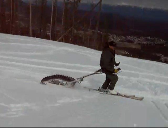 Буксировщик для лыжника