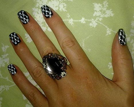 рисунки на коротких ногтях фото