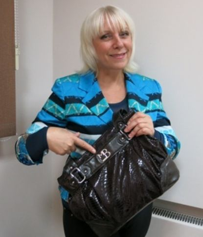 Находка в сумке Елены Яловик