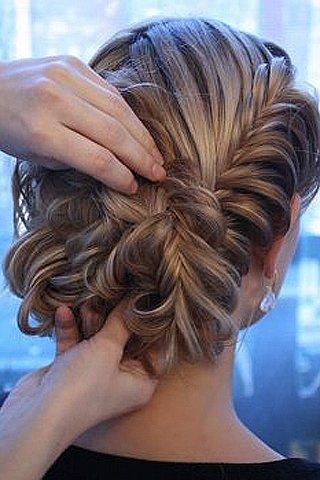 Frisuren Von Themen   Hochzeit Frisuren F  R Mittellanges Haar Foto