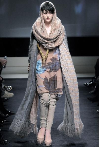 10 креативных способов завязать шарф.