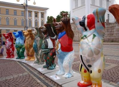 Медведи в городе