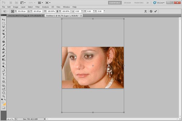 Уроки фотошопа часть 77 - Делаем вечерний макияж
