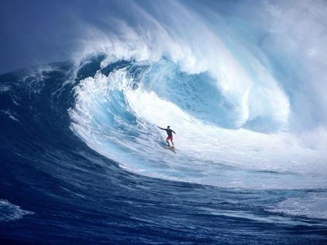 Экстремальный вид спорта — сёрфинг