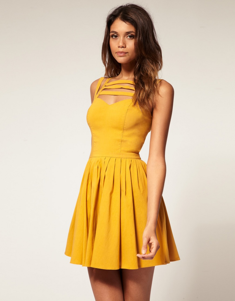 ASOS Skater Dress With Multi Strap. SEK. 494.