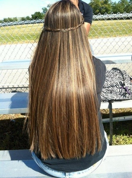 Как сделать красивое мелирование на длинные волосы