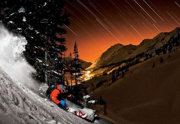 Зимний спорт в фотографиях Гюндерсона