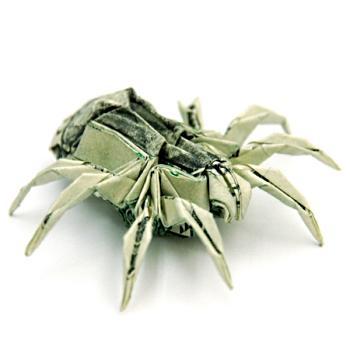 Маним деньги оригами