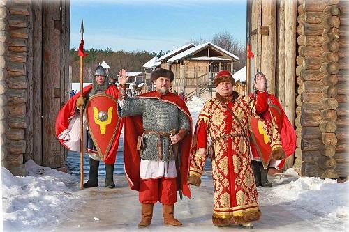 Масленица по-княжески в Древнем Киеве