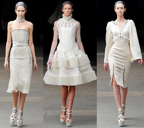 Конечно, от легких летних моделей модные зимние вязаные платья 2011-2012...
