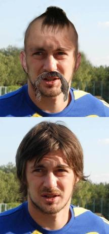 Постригут ли футболистов?