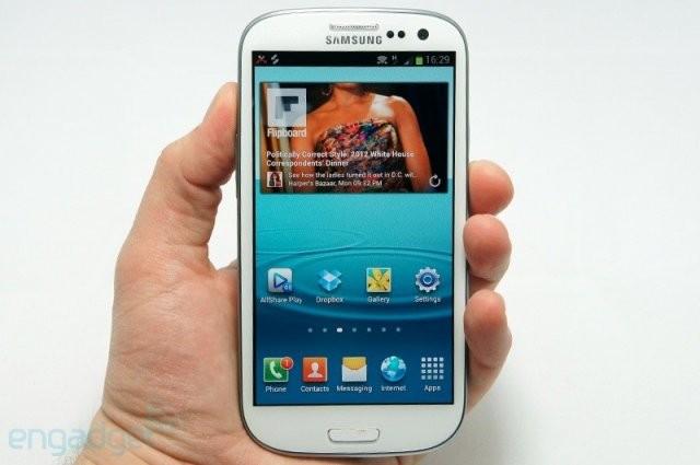 Новый заряженный флагман Samsung Galaxy SIII