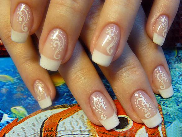 Узоры на ногтях на короткие ногти в  164