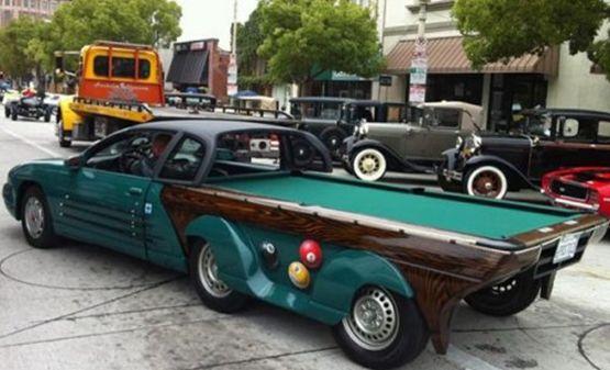 Бильярдный автомобиль