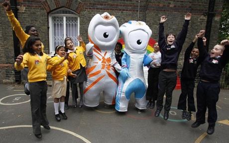 Талисманы Олимпийских игр за детский спорт