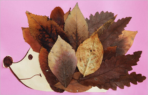 Осенних листьев поделки