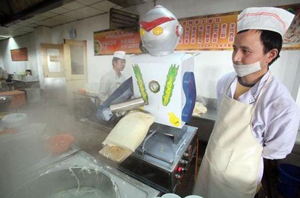 Роботы оставили без работы поваров