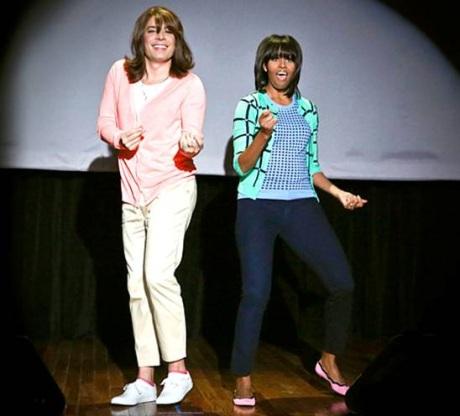 Уроки танца от Мишель Обамы