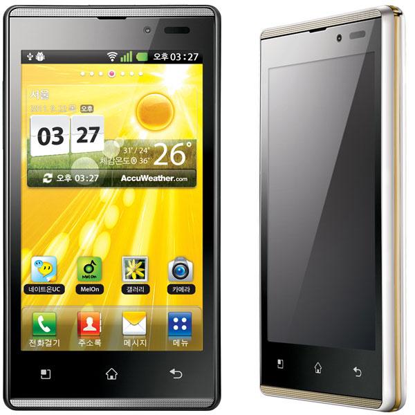 Новый смартфон LG SU880 Optimus EX