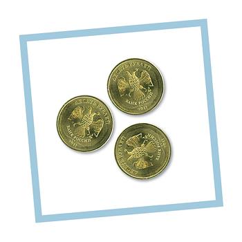тест с монетами