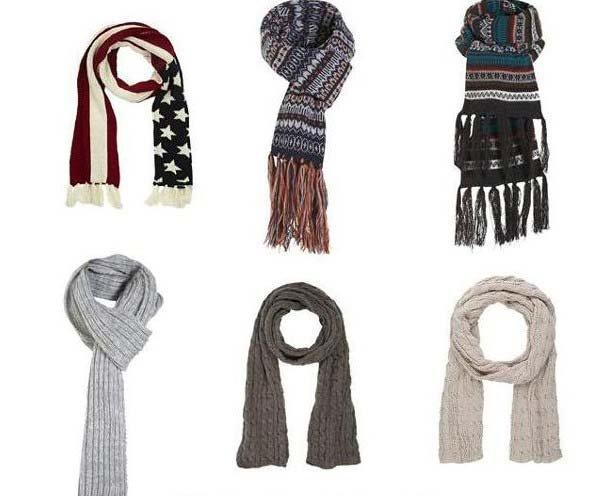 Авторский комментарий: вязание мужского шарфа спицами.