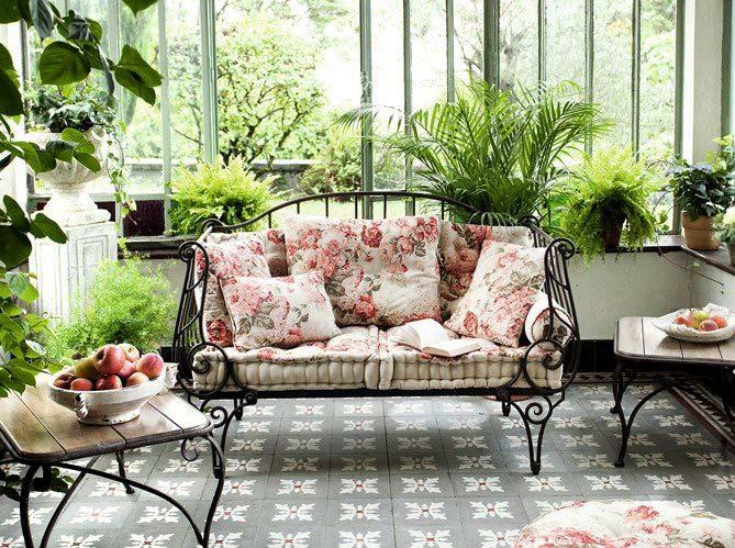 Фото красивых домов и интерьеров с цветами