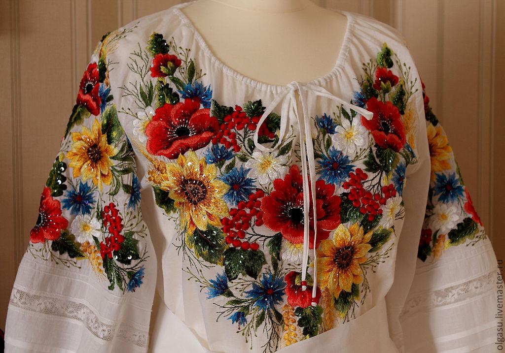 Вышивка на одежду в украине