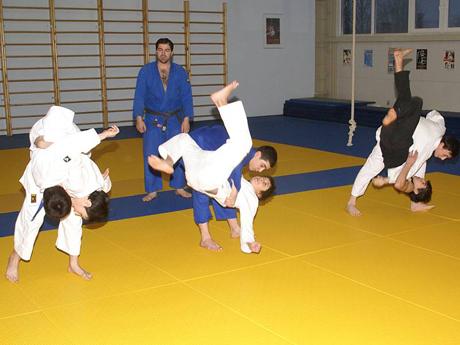 Детский спорт — дзюдо