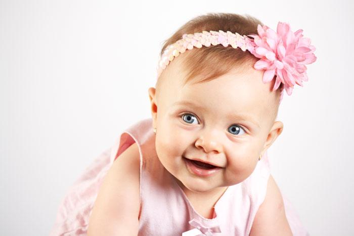 Развитие ребенка в первые шесть месяцев жизни