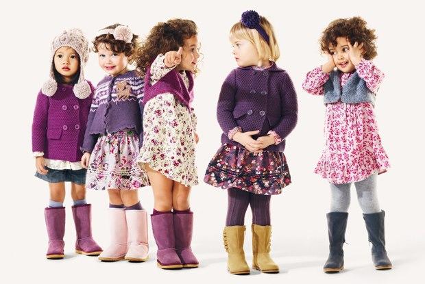 Мода для взрослых детей